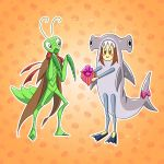 The Mantis and The Hammerhead [Bday pic] by monsieurpigeon