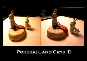 Pokeball and Crys by idont0know