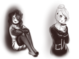 Sweaters by MaryLittleRose