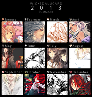 Summary 2013 by wickedAlucard