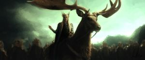 A King Amongst Elves - Thranduil by NicolaMichelle