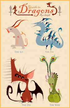 Guide to Dragons by sapphii