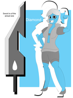 Diamond Son Shin Ken Reference by Keytee-chan