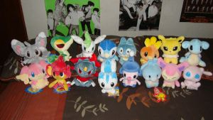 My Pokedoll Collection by miyac
