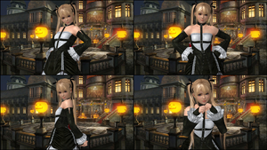 ~Marie Rose Victory And Defeat Pose Pack~ by SnowTheWinterKitsune