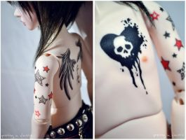 Raphaels tattoos by prettyinplastic