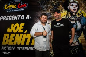 Joe Benitez and Me by DraconPhotography