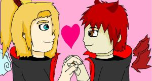 Together forever :sasodei: by wolfmaster1