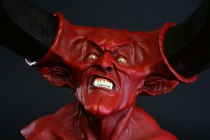 Lord of Darkness bust by Daran Holt by Do-more-withyourlife