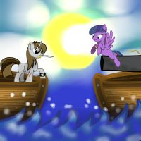 Skylar and Dawn: Inside the mind of a foal! by Scarred-Brit-VG