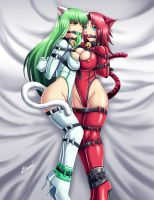 Cici and Shibari by Karosu-Maker