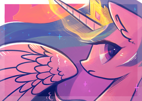 Celestia Postcard by Hollulu