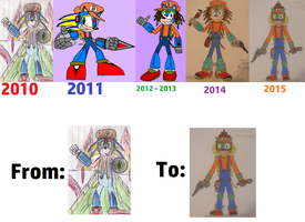 Detonator - changes throughout the years - updated by spyaroundhere35