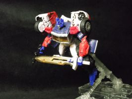 Reveal The Shield Laser Optimus Prime by forever-at-peace