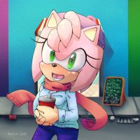 Amy Rose Cold by heitor-jedi