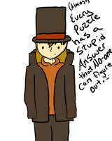 I'm wearing the professor's clothes! by MistyEm1101