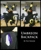 Umbreon Backpack by Tez-Taylor