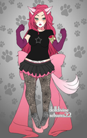 In a diffrent anthro form? by Tobi501