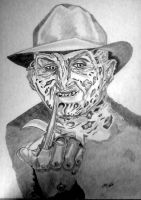 Freddy Krueger by SrOller