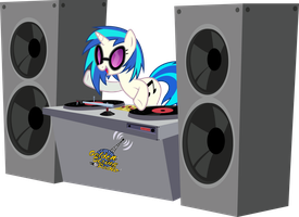 [Commission] DJ Pon-3 by Silentmatten