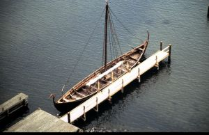 Viking longship by Grombald