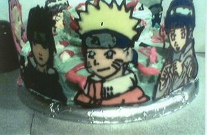 Naruto Cake part 2 by nikki12390