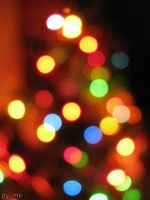 christmas lights. by mia-kian