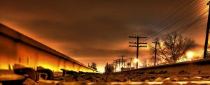 TrainTracks HDR by rfschult