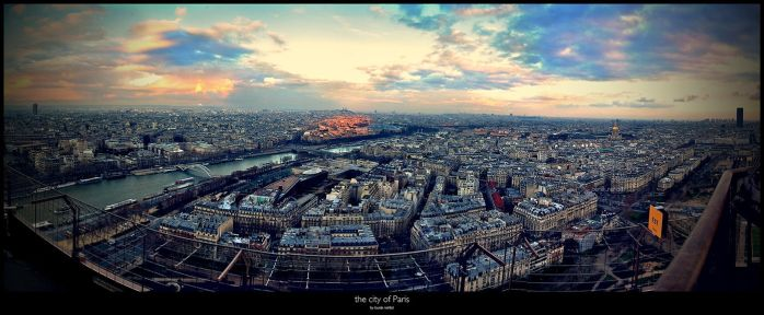 the city of Paris by Winterfall