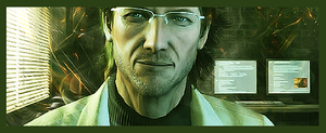MGS: Otacon by aestheticdesigns