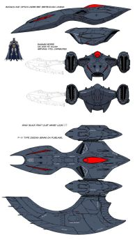 DCU MMO Batwing design by Chuckdee