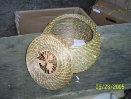 Ron's Sweetgrass prayer basket by Disappointmentmama