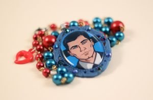 Sterling Archer Necklace by PeppermintPuff