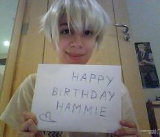 Happy Birthday Hammie by Ember329