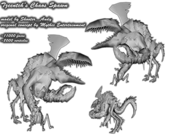 Tzeentch's Chaos Spawn by Shooter--Andy