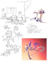 Kancle doodles by CandleBell
