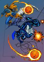 Spidey vs Hobgoblin - Angarcia by SpiderGuile