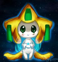 A Jirachi by Angel-soma