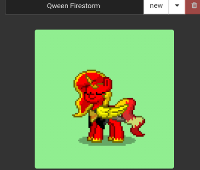 Qween Firestorm~ by PregnancyLove