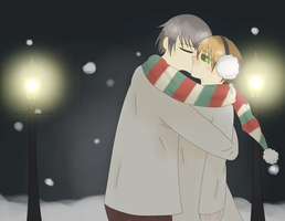 art trade: junjou kiss by usaginu