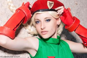 Cammy Street FIghter by ivettepuig