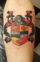 Coat of Arms by eliq-tattoo