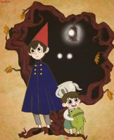Over the garden wall by moonplata