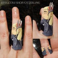 Thranduil Ring by otterling