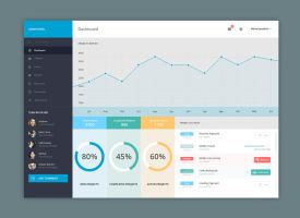 Admin Panel - Dashboard by shany-graphics