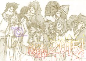 Happy 2015! by Dalhia-Gwen