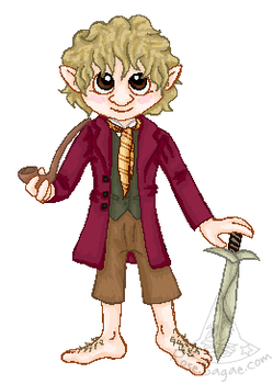 Hobbit Freeman by RoseSagae