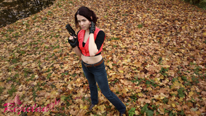 Claire Redfield Code Veronica costume II by Rejiclad