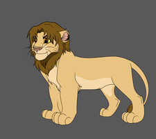 Male Lion Adoptable 7 - CLOSED - by Soufroma