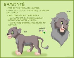 Character sheet - Ramonte by ShilaDaLioness
